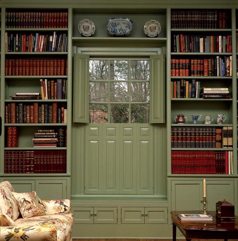 5 Ideas For Historic Window Treatments. Colonial DecoratingDecorating IdeasInterior  ShuttersWindow ShuttersRaised Panel ...
