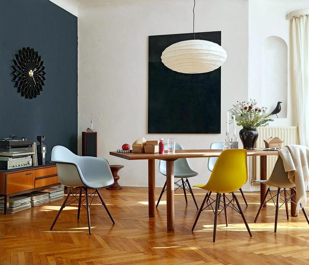 Vitra Akari 50en 70en Eames House Dining Room Design Eames Dining