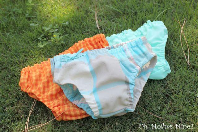 Tutorial Cubre Pañales Para Bebés Cómo Hacer Bragas Bebe Diy Ropa Bebe Ropa Vestidos Para Niñas