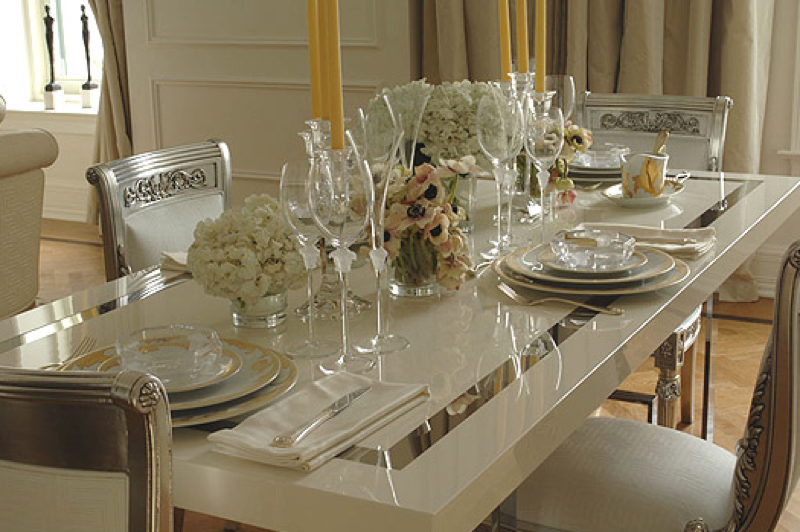 Elegant Versace Home Collection  Unique Dining