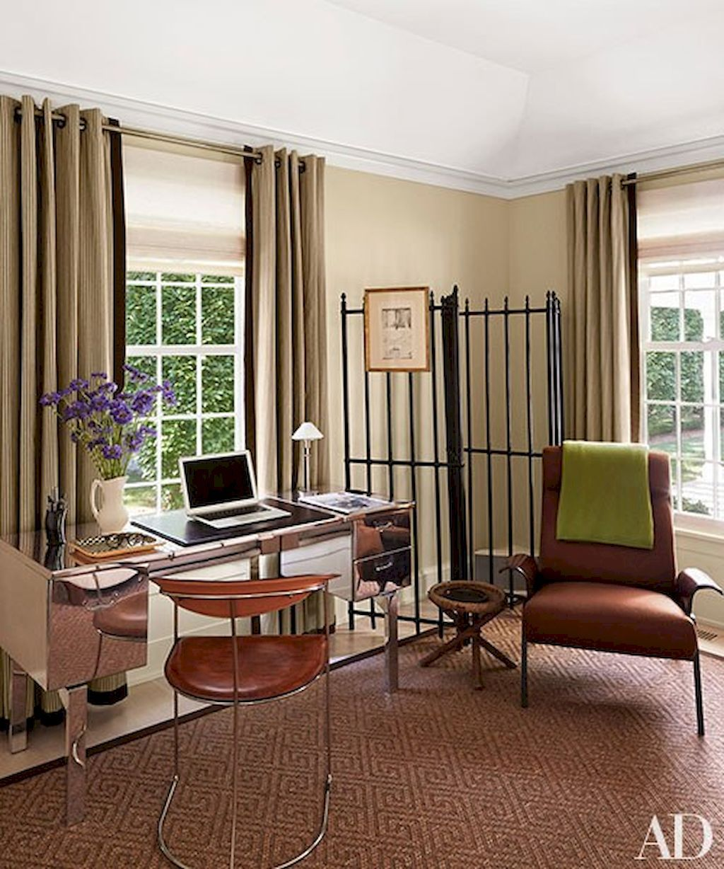 Nice 60 Amazing Moody Mid Century Home Office Decor Ideas  Https://homeastern.