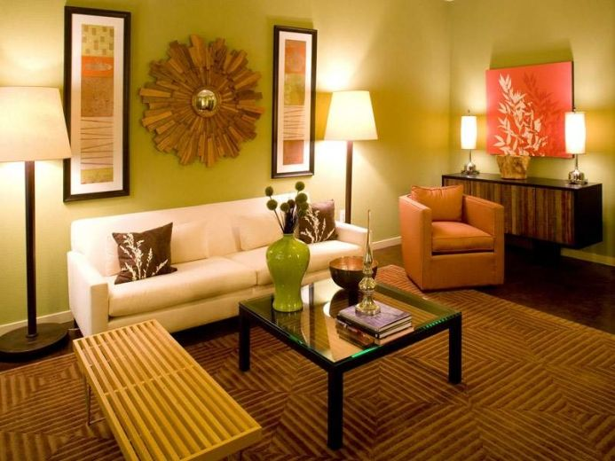 Wall Decor In Living Room Ideas
