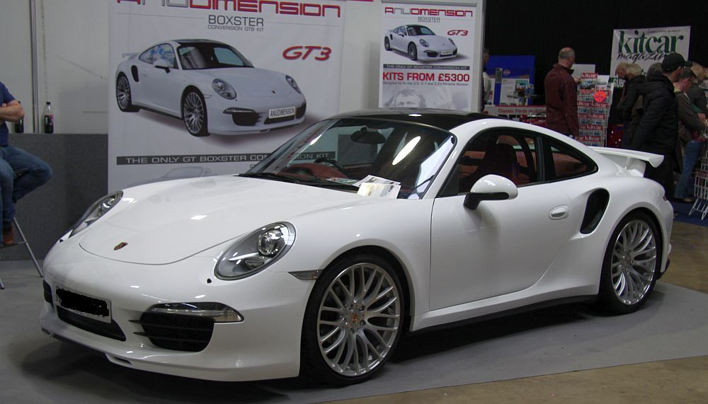 A Nu Dimension S Gtb Porsche Boxster Based Body Conversion Was