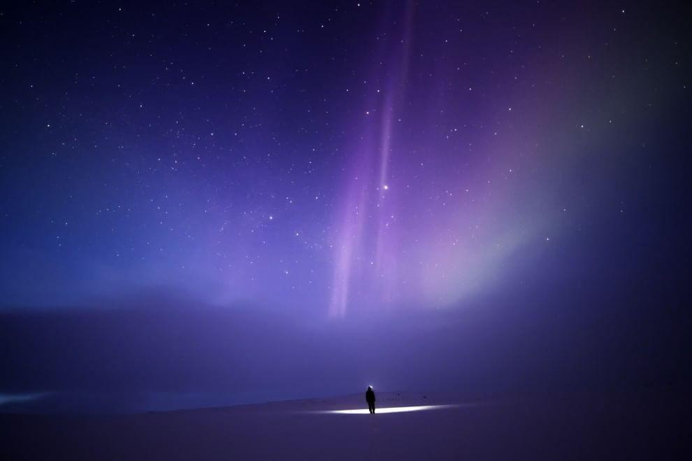 Viaggio nella Lapponia incantata, autoritratti tra aurore boreali e cieli mozzafiato http://larep.it/1PULLsQ
