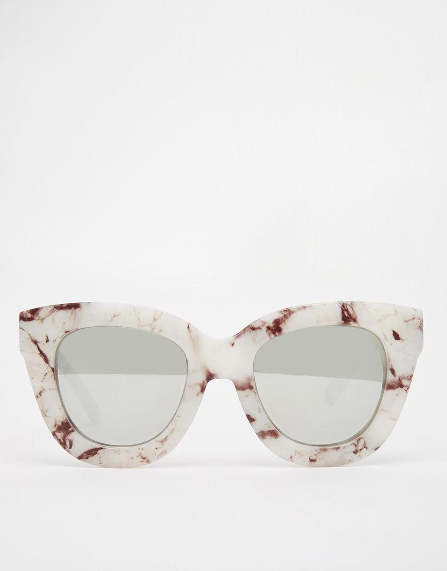 ef6950d81a Image 2 of Quay Australia Sugar   Spice Mirror Cat Eye Sunglasses ...