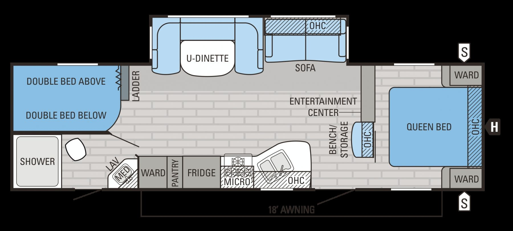 Jayco Travel Trailer Floor Plans Travel trailer floor