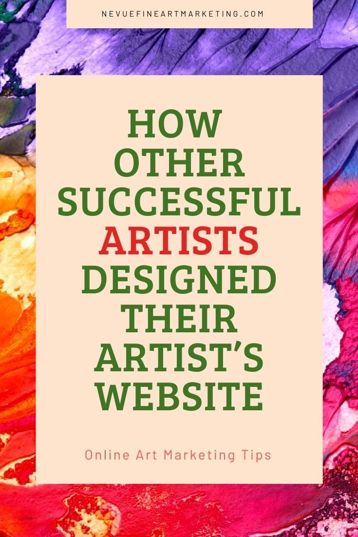 4 amazing artist websites you should see in 2020 selling