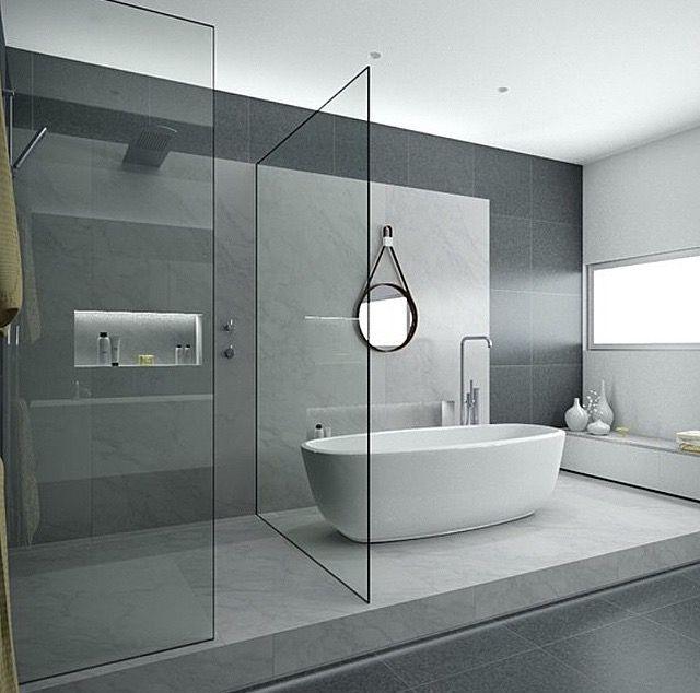 640 634 bath pinterest badrum house och hus - Deco toilet grijs ...