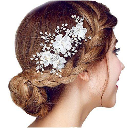 für Hochzeitshaare Frauen Kristall Kopfstück Haarnadeln für die Braut