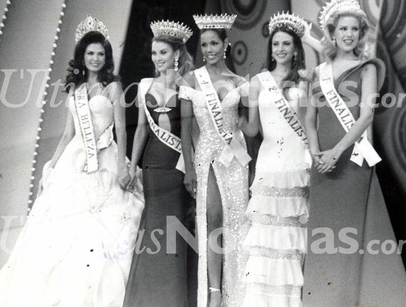 Concurso Miss Venezuela Año 1996. Foto: Archivo Fotográfico/Grupo Últimas Noticias