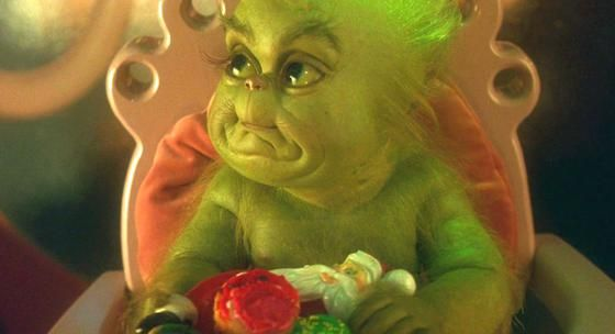 The Grinch Baby Smile