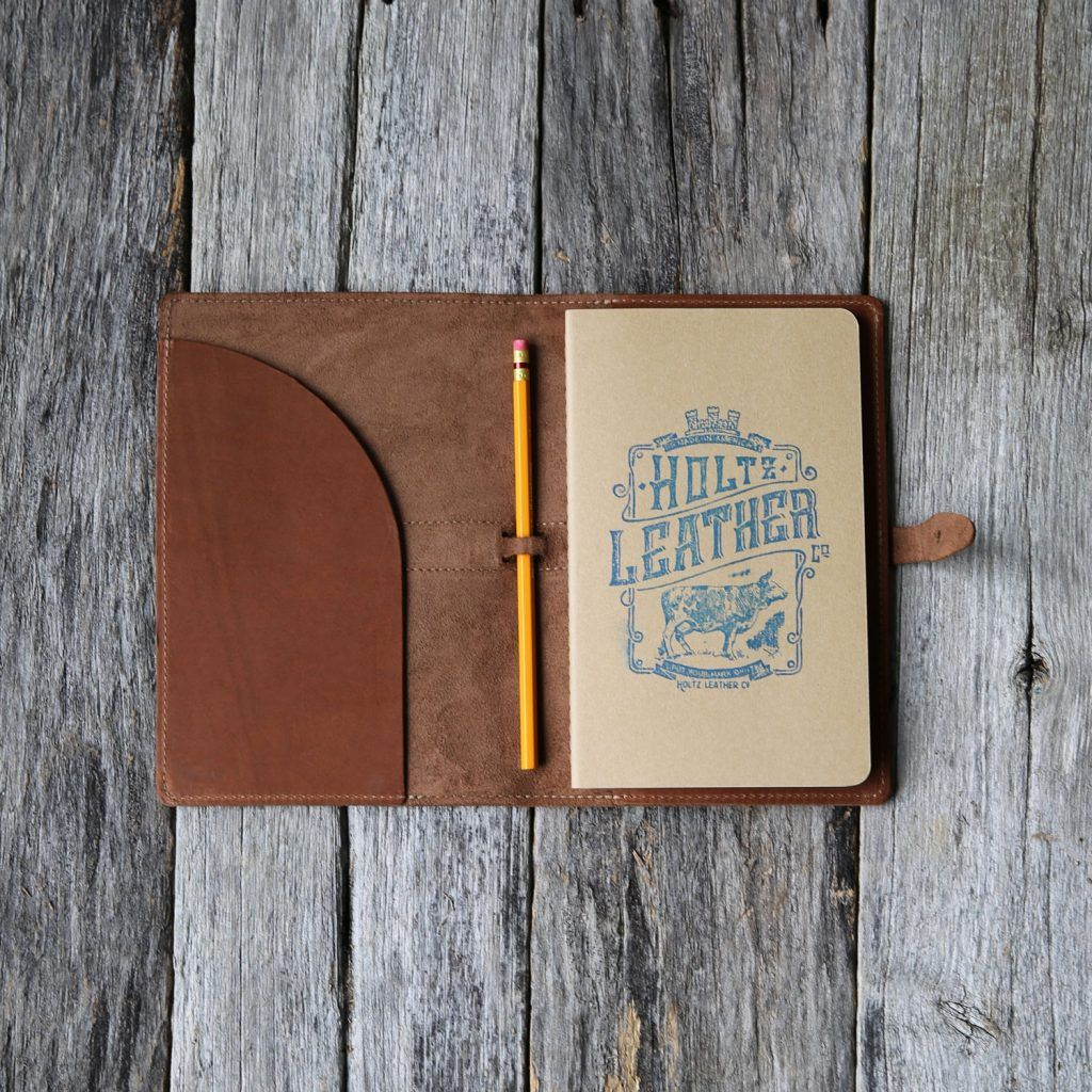 The Inventor Personalized Fine Leather A5 Moleskine Journal Diary - Leather journal, Holtz leather, Leather - 웹