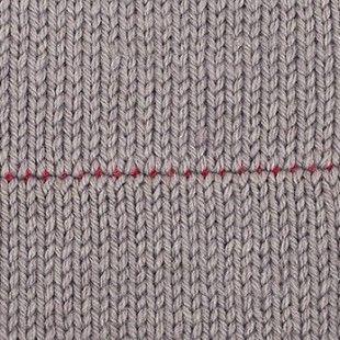 Strickteile verbinden – Teil 1: Zusammenstricken und gemeinsam Abketten