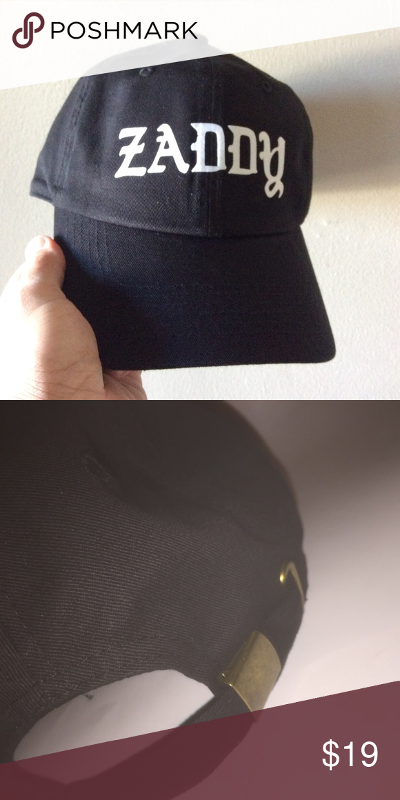 c837c728c5c ... denmark zaddy dad hat nwt this black strapback dad hat is adjustable  with tuck pocket newignore sweden dope hat dope hats 9fc51 71814 cheapest  mens ...