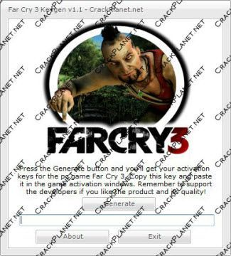 Download Far Cry 3 Keygen and get valid Serial Number/Key