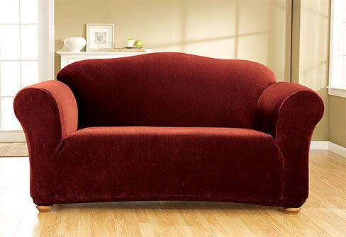 It S Like Having A Whole New Couch Or Chair Sure Fit Slipcovers Stretch Corduroy One