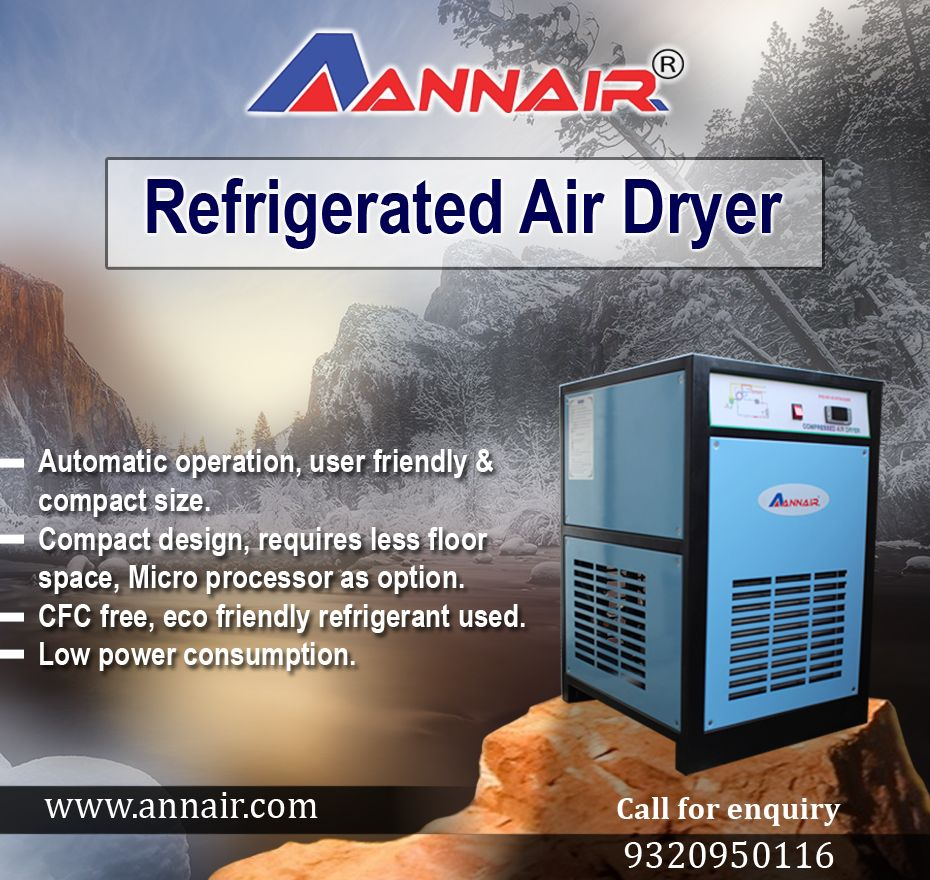 Buy Refrigerated Air Dryer Products from Annair Drychill