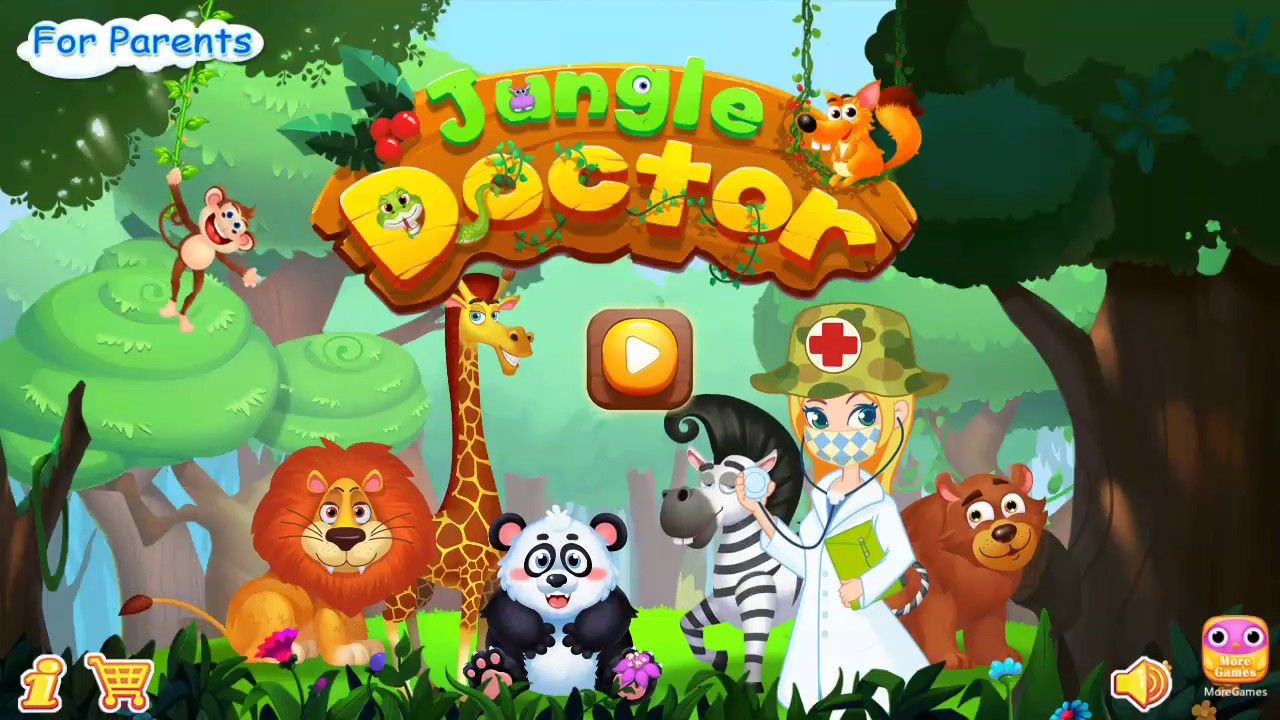 Best android games Jungle Doctor Fun Kids Games