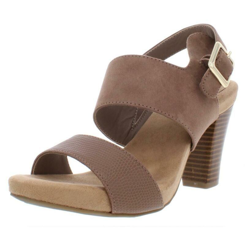 Giani Bernini Womens Aikko Taupe Dress Sandals Shoes 7 5 Medium Bm Bhfo 9246 Sandals Ebay Link In 2020 Sandals Heels Slingback Sandal Slingback