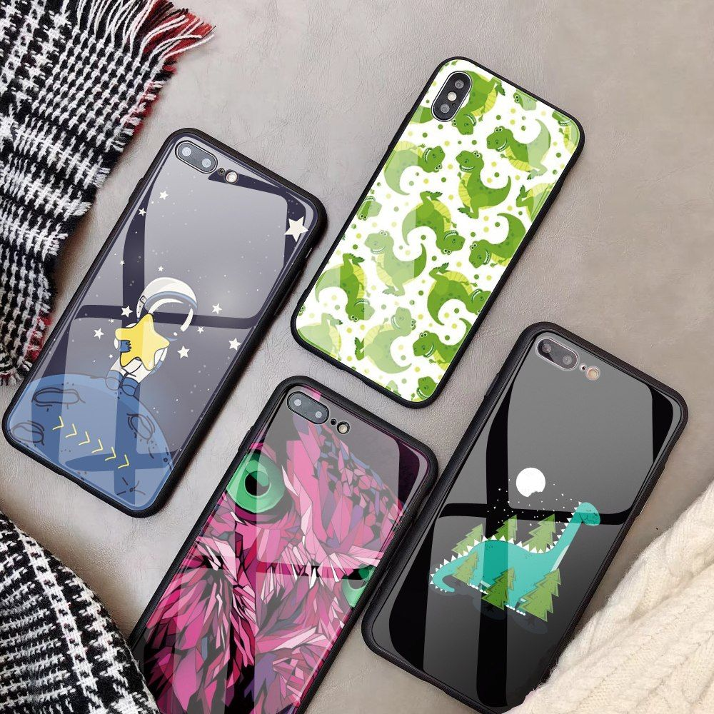 """Universe of goods Buy """"Customized Tempered Glass Phone"""