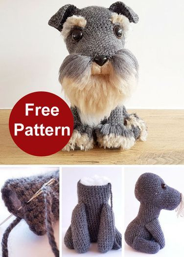 Amigurumi Dog Fur - Free Crochet Pattern (Beautiful Skills - Crochet ...