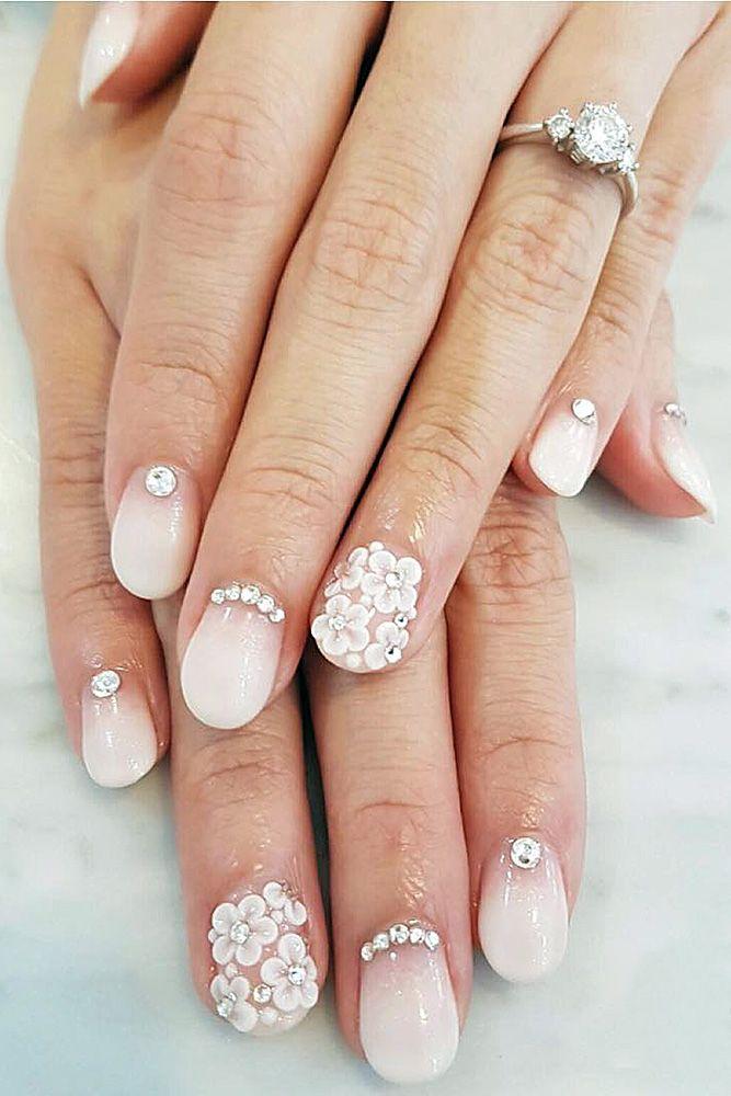 Nails Wedding Nails: 20 Perfect Wedding Nail Art Desgins