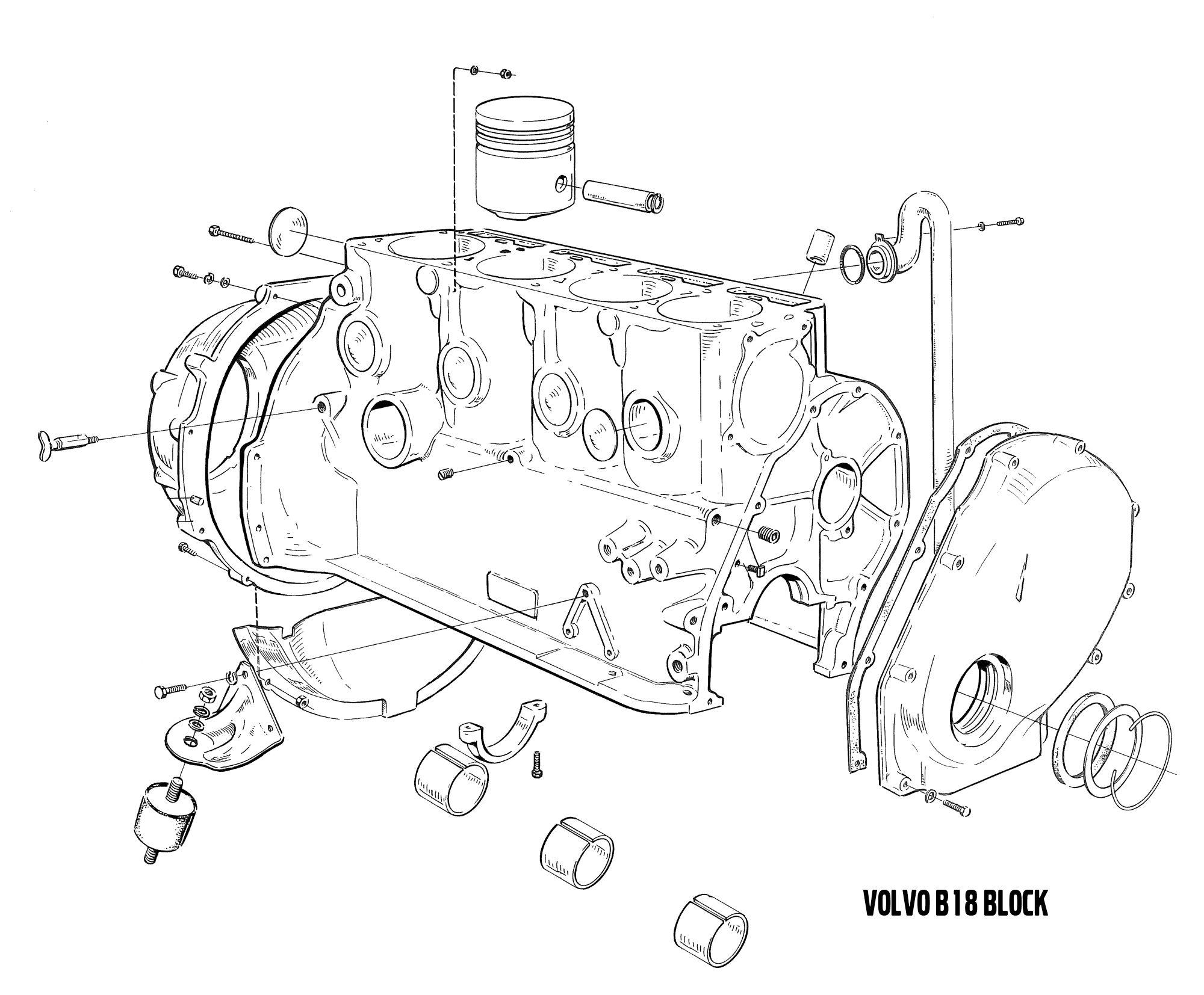 [WRG-1299] B18 Engine Diagram