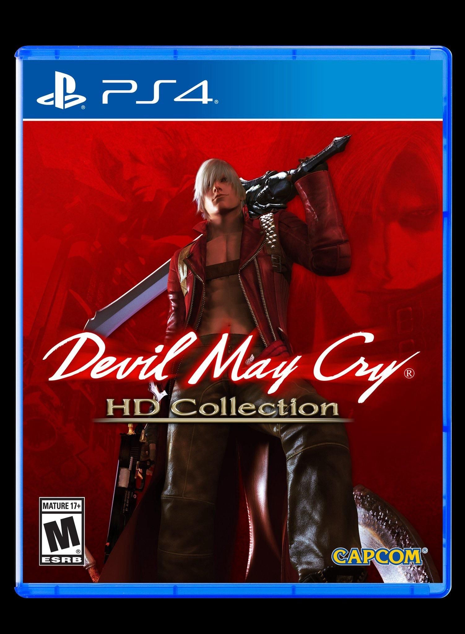 Image Devil May Cry Hd Collection Ps4 Box Art Playstation4 Sony Super Dungeon Bros Videogames Playstation Gamer Games Gaming