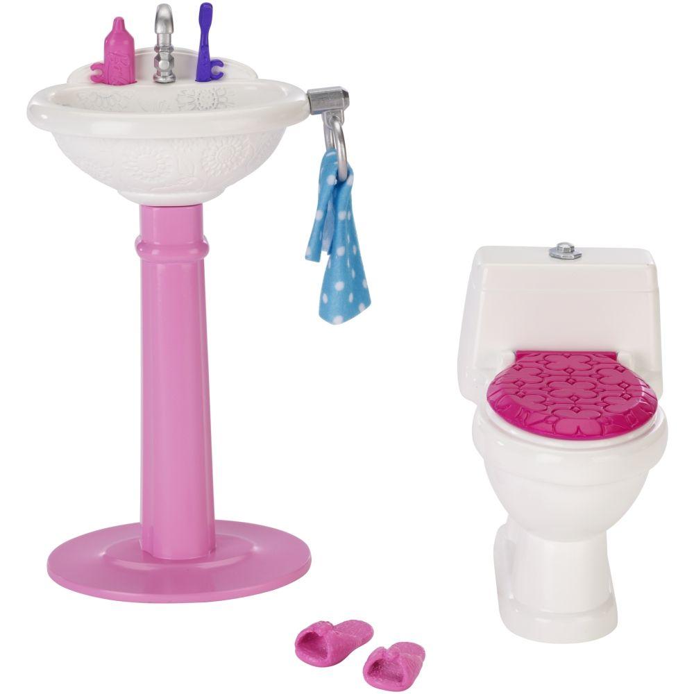 Barbie 174 Bathroom Set Barbie Playsets Barbie Playsets