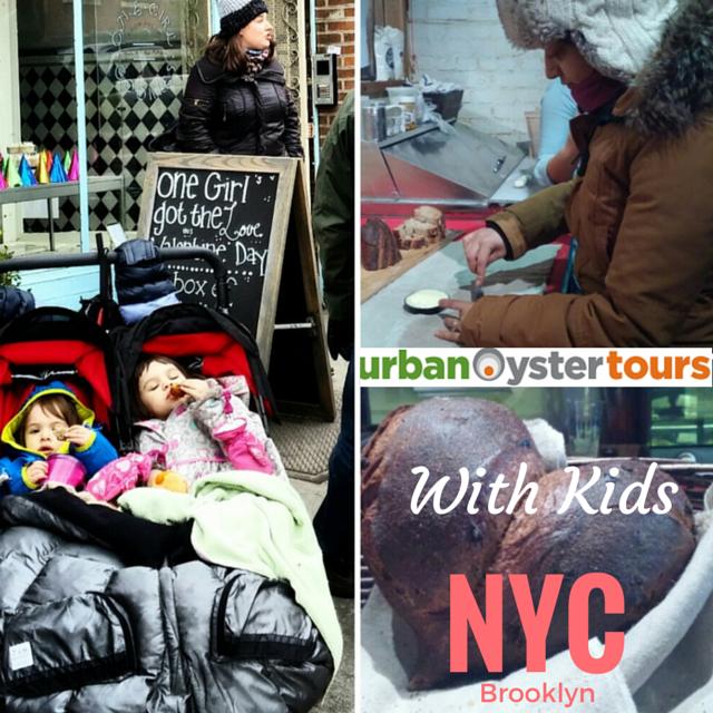 Urban Oyster tour, NYC food tour, kids food tour