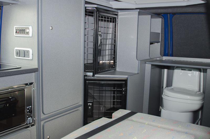 Vega Küchenbedarf ~ Vw camper van with cat cages diy campers mobile living