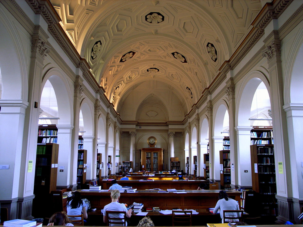 Donaldson Reading Room Ucl University College London Wikipedia University College London Colleges And Universities Travel
