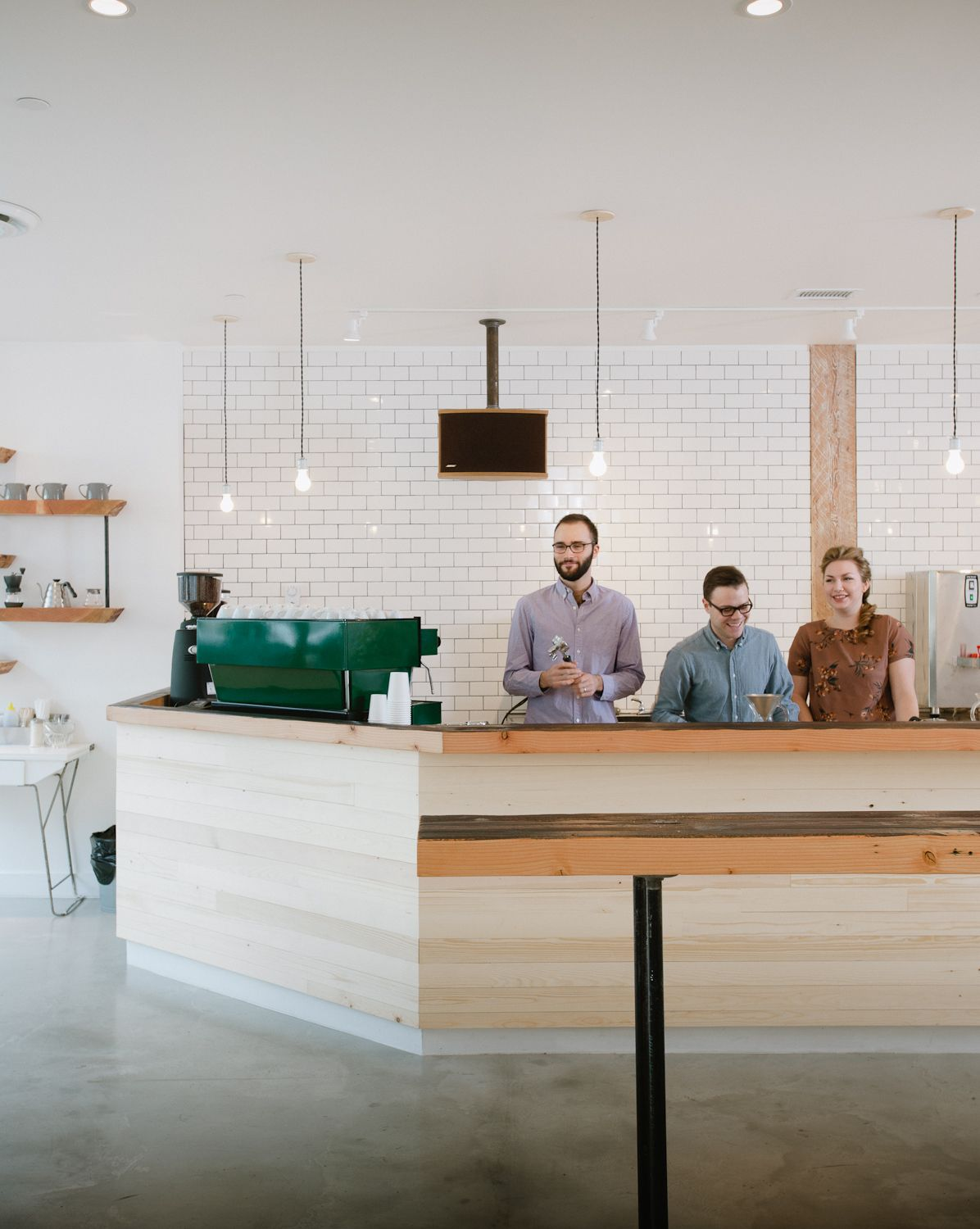 matchstick - a fancy new coffee shop in van with a rustic feel