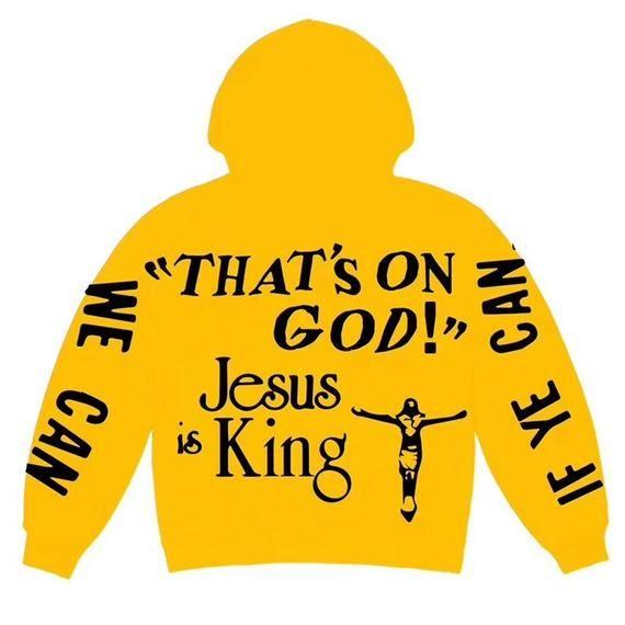 Jesus Is King Sweatshirt Sunday Service Sweatshirt Kanye West Sweatshirt Cactus Plant Flea Market Sunday Service Merch Kanye West Merch Kanye West Sweatshirt Kanye West Artist Shirts