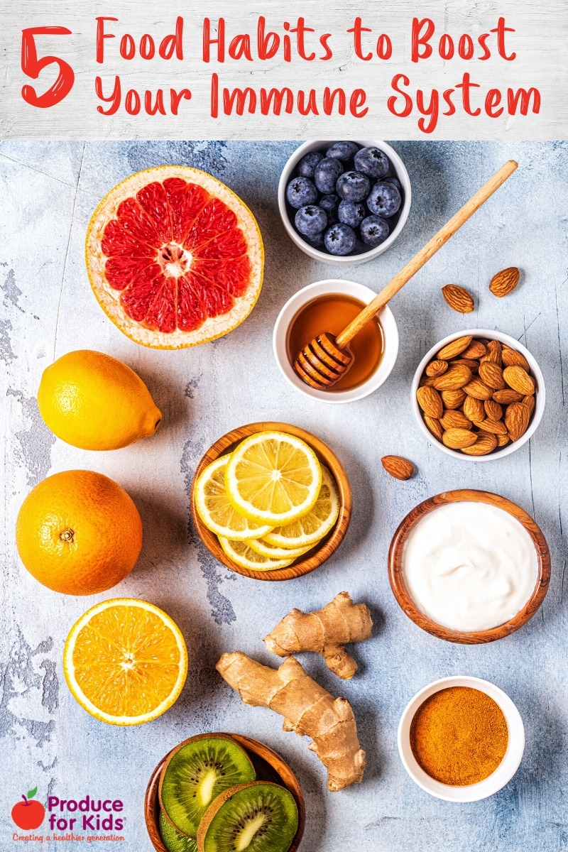 5 Food Habits to Boost Your Immune System Food, Protein
