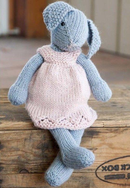 Lizzie Rabbit Free Download Beautiful Skills Crochet Knitting