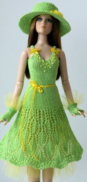 Pin by Martha Villacís on BARBIE CROCHET | Pinterest | Crochet