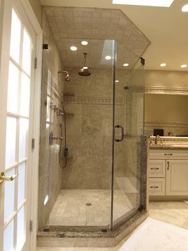 Transitional Bathroom With Copper Accents Ardmore Pa Traditional Philadelphia Ferrarini