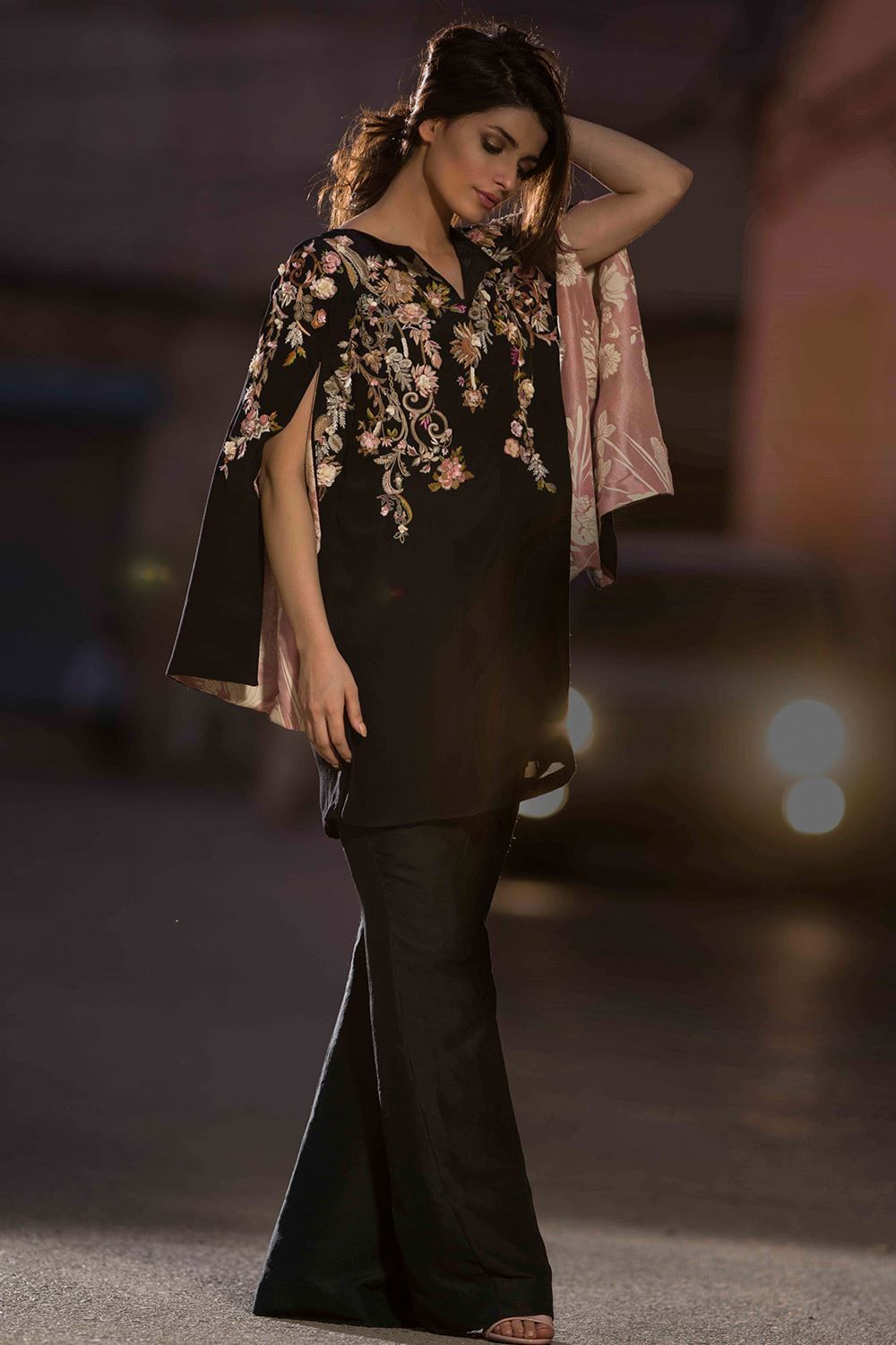 Eid collection dresses designed by nida azwer exclusive photo
