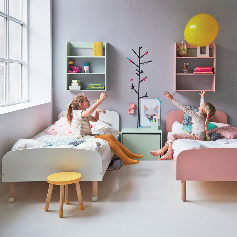 Flexa Kinderbett PLAY aus Holz (90x200) in weiss, TÜV