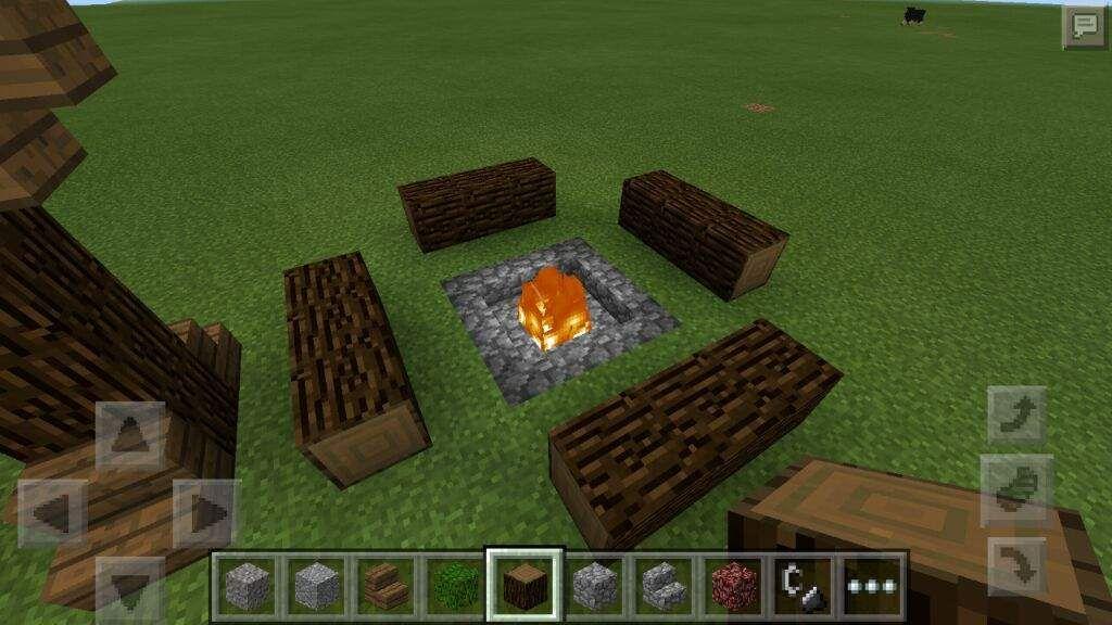 Hoguera Camping Diseños Minecraft Minecraft Y