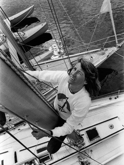 Naomi James Naomi James Yachtswoman The first to sail singlehanded around the