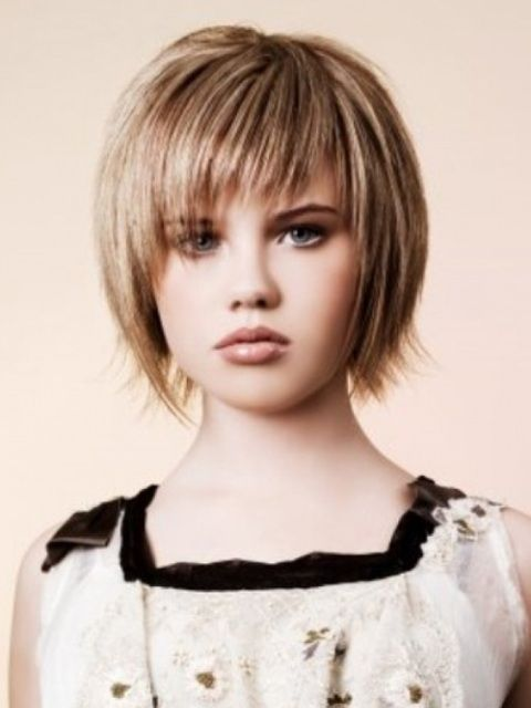 Little Girl Short Haircuts - 10 # Short Choppy Hairstyles With ...