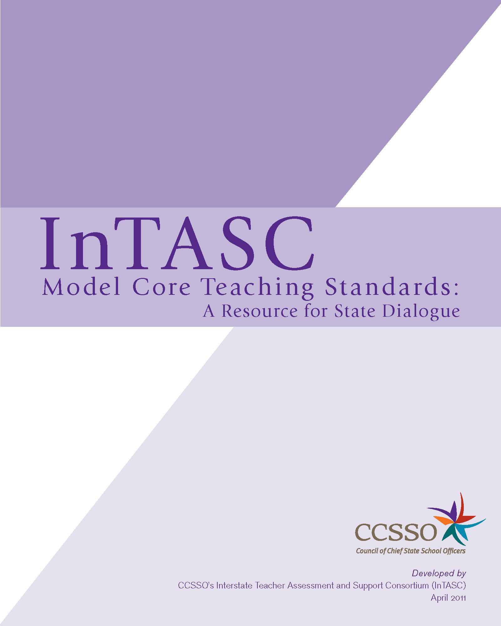 Cover Of Intasc Standards  Books Worth Reading
