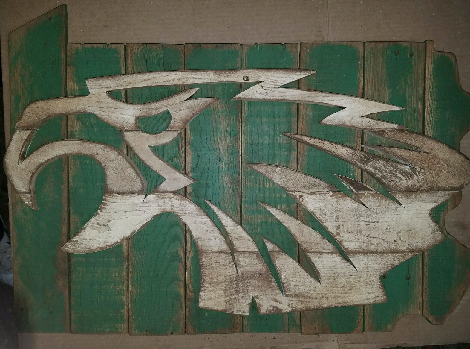 2ba41e3a Philadelphia Eagles - pallet sign | Hand-Crafted Projects - Pallets ...