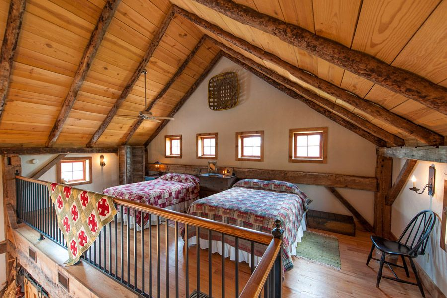 Greenville Barn Home - A circa 1840 barn converted into a 864 square feet  cabin in