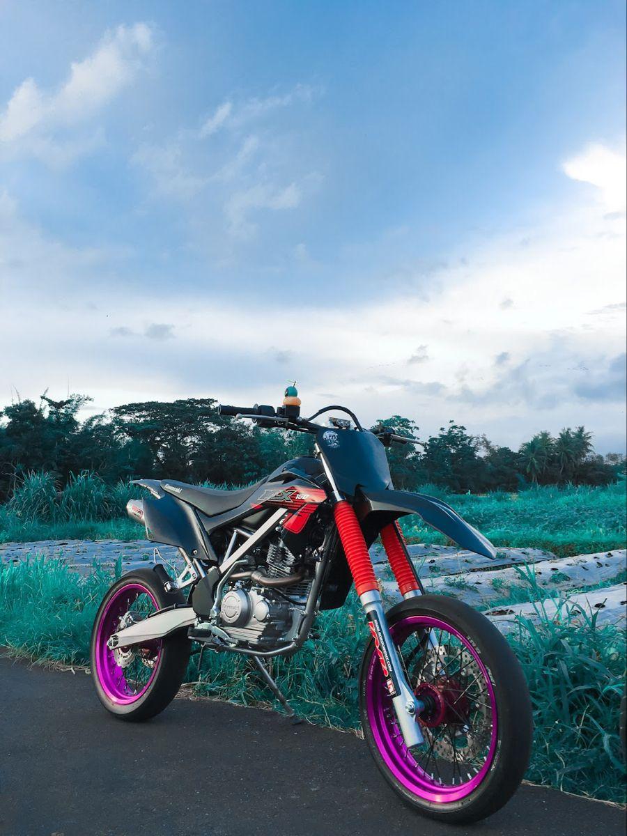 Supermoto Supermotorbikes Klx110 Kawasaki Di 2020 Indonesia