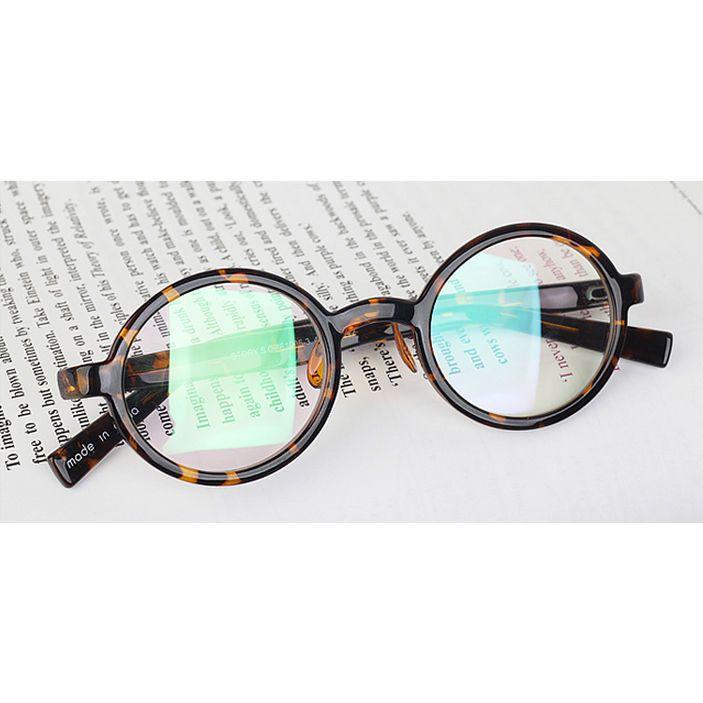 a3f636e35c7 1920 Vintage oliver rétro lunettes rondes 1450 Black style kpop eyewear  cadres