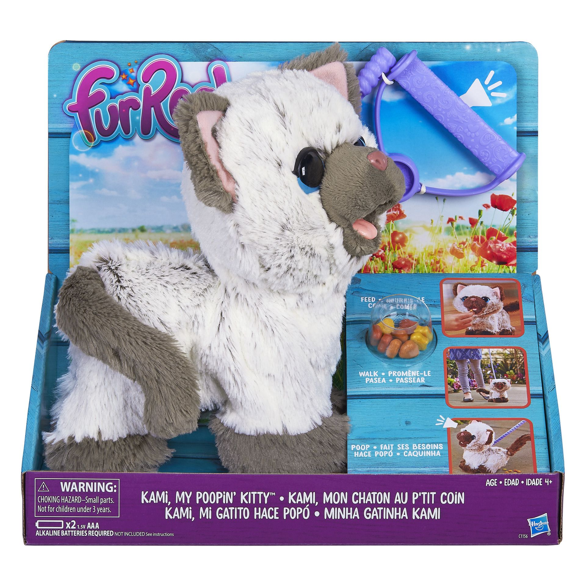 Includes Fur Real Friends Kitty Toys