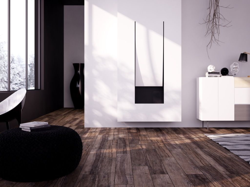 One of our favorite wood look tiles! SO REALISTIC! Beautiful Only at Interceramic! Check it out! Perfect for floor/wall applications.